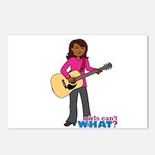 Guitar Player Dark Postcards (Package of 8)