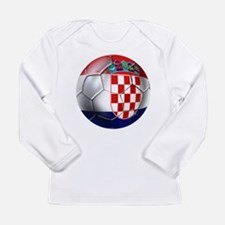 Croatia Football Long Sleeve Infant T-Shirt