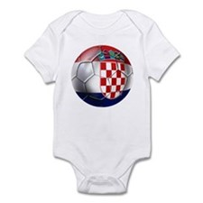 Croatia Football Infant Bodysuit