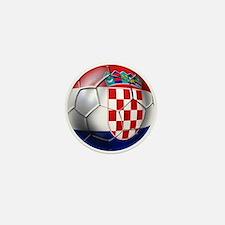 Croatian Football Mini Button