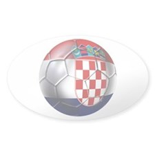 Croatian Football Decal