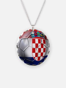 Croatian Football Necklace