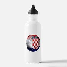 Croatian Football Water Bottle