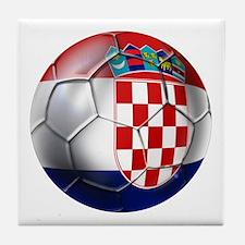 Croatian Football Tile Coaster