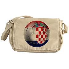 Croatian Football Messenger Bag