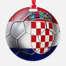 Croatian Football Ornament