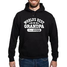 World's Best Grandpa Since 2011 Hoodie