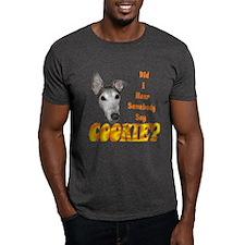 COOKIE? MENS CHARCOAL TEE