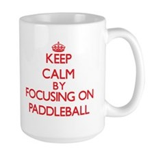 Keep calm by focusing on on Paddleball Mugs