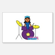 Drummer Dark Decal