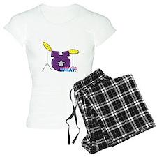 Drums Purple Pajamas