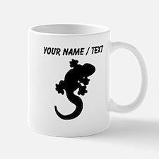 Custom Lizard Silhouette Mugs