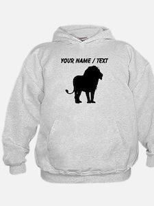 Custom Lion Silhouette Hoodie