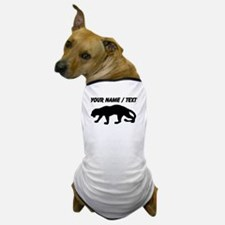 Custom Panther Silhouette Dog T-Shirt