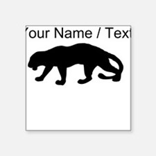 Custom Panther Silhouette Sticker