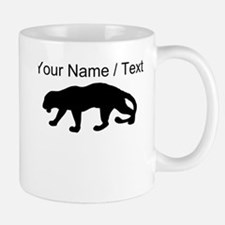 Custom Panther Silhouette Mugs