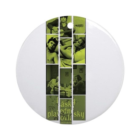 Loves Of A Blonde Ornament (Round)