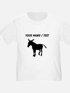 Custom Donkey Silhouette T-Shirt