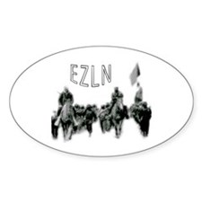 EZLN Oval Decal
