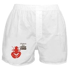 Lobsters Are WICKED GOOD Boxer Shorts
