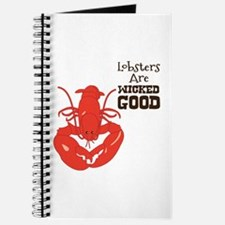 Lobsters Are WICKED GOOD Journal