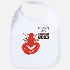 Lobsters Are WICKED GOOD Bib