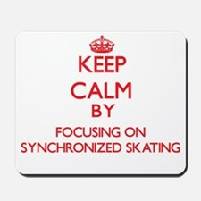 Keep calm by focusing on on Synchronized Skating M