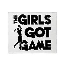 GOT GAME, B-BALL Throw Blanket