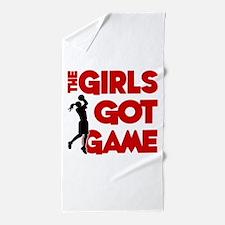 GOT GAME, B-BALL Beach Towel