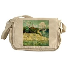 Nassau, Bahamas - Julian Alden Weir  Messenger Bag
