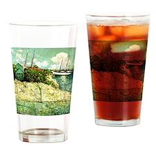 Nassau, Bahamas - Julian Alden Weir Drinking Glass