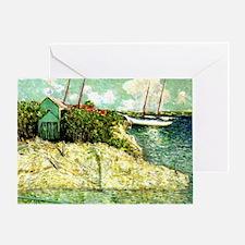 Nassau, Bahamas - Julian Alden Weir  Greeting Card
