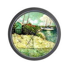 Nassau, Bahamas - Julian Alden Weir pai Wall Clock