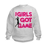 Girls basketball Crew Neck