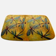 Dragonfly Haze Bathmat