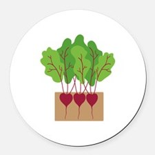 Beets Round Car Magnet