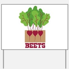 BEETS Yard Sign