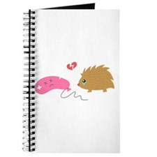 Some Love is not meant to be, funny hedgehog Journ