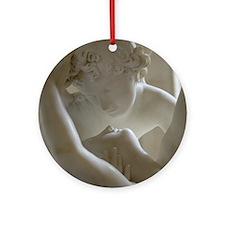 Amor et Psyche Ornament (Round)