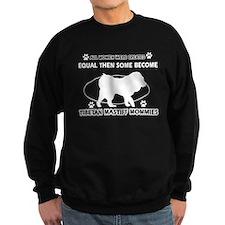Tibetan Terrier mommy designs Sweatshirt