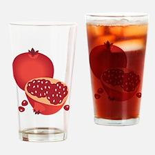 Pomegranate Drinking Glass