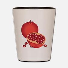 Pomegranate Shot Glass