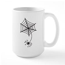 cute Spider in a web Mugs
