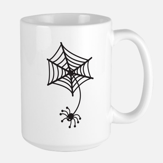 cute Spider in a web Mugs
