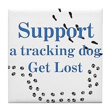 Tracking Tile Coaster
