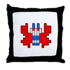 Cute Classic video game Throw Pillow