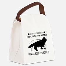 Labrador dog breed mommy designs Canvas Lunch Bag