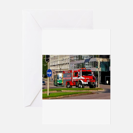 Clearance Truck Greeting Cards