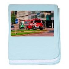 Clearance Truck baby blanket