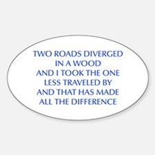 TWO-ROADS-OPT-BLUE Decal